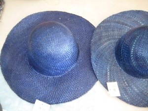 Sacrificial hats, ready to reblock. I have two because I'm making a matching set.