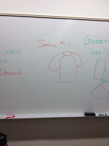 For clarity, this is a rough drawing of a raglan sleeve shirt.