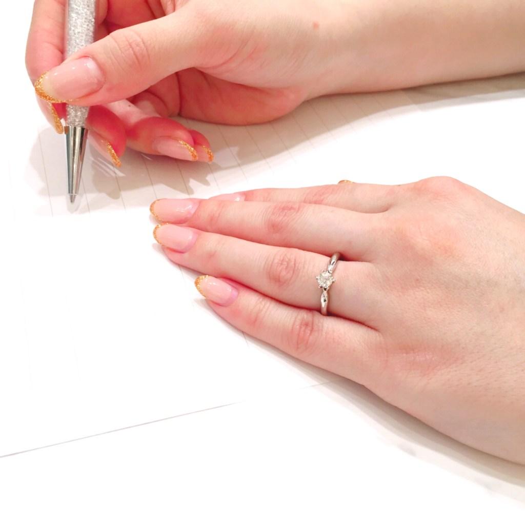 結婚指輪 婚約指輪 仙台 コーディネイト