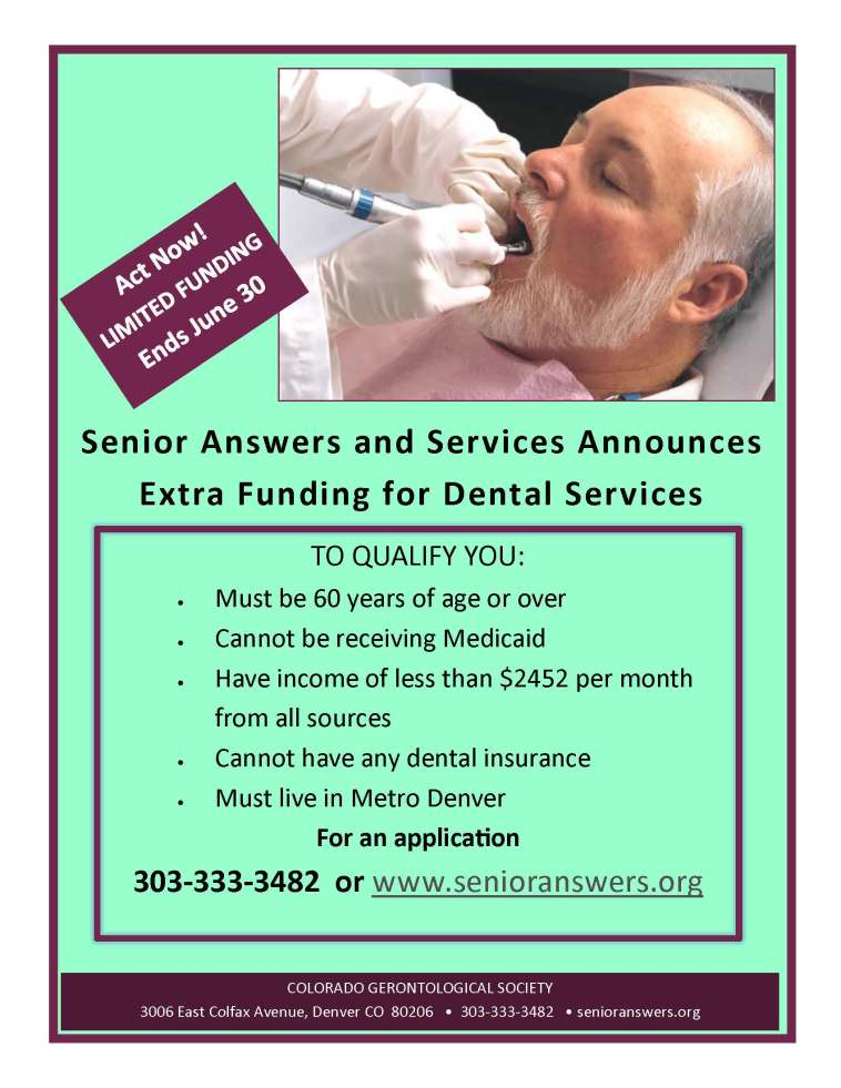 Dental Flyer - Extra Funding