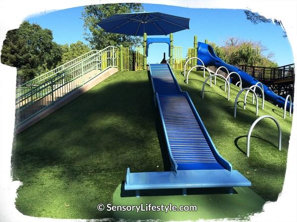 Magical Bridge Playground - Slide Zone