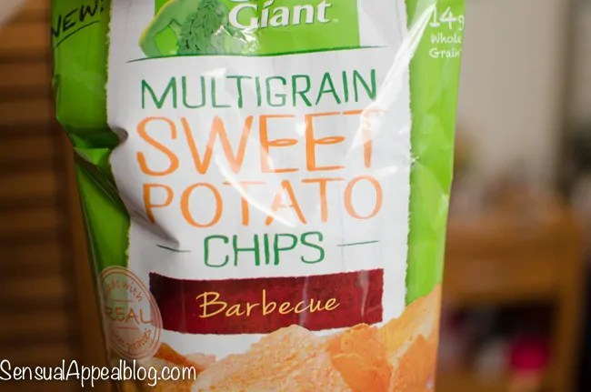 Green Giant Veggie Chips Sweet Potato