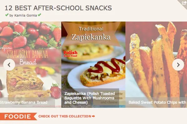 After-School Snacks + Monthly Link-Up