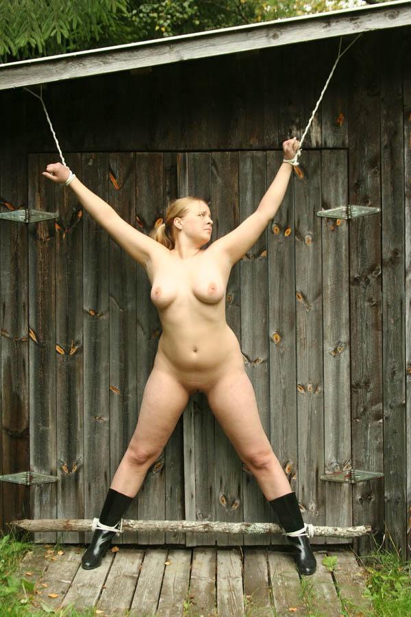 Female crucifixion bdsm how