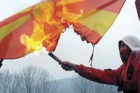 bandiera-macedonia-bruciata