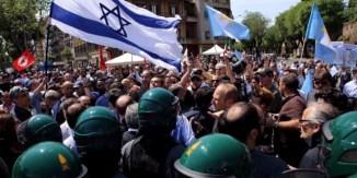 """Veder sventolare bandiere di Israele nei cortei del 25 aprile, """"mimetizzate"""" fra quelle della Brigata ebraica, è ormai diventato la normalità..."""