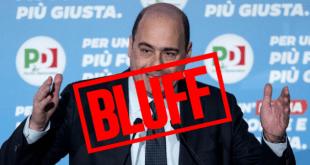 Zingaretti: cronaca di un grande bluff