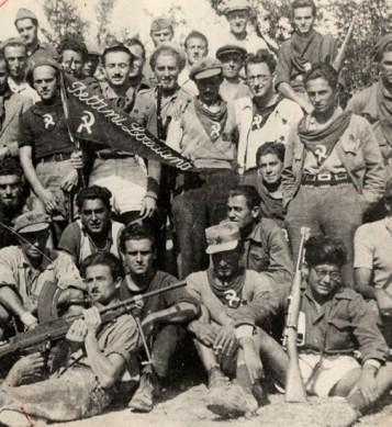 Partigiani della 36a Brigata Garibaldi.