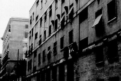 Foto del carcere nazista di Via Tasso