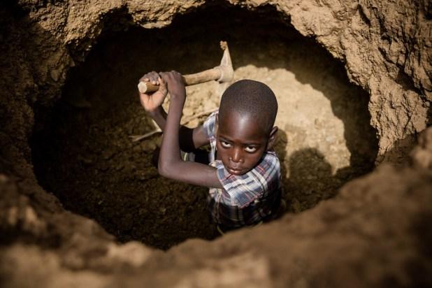Miniera di cobalto, Repubblica Democratica del Congo