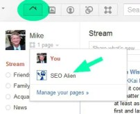 Creating admins for Google Plus