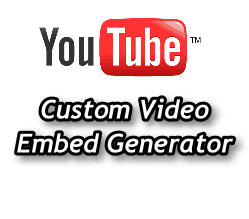 How to Create Custom YouTube Embed Codes