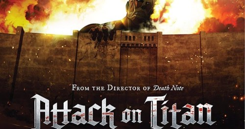 Attack On Titan English Poster (DVD Cover Eps 1-13)