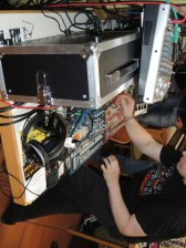 Moogulator at Happy Knobbing 2015 Modular Synthesizer Meeting