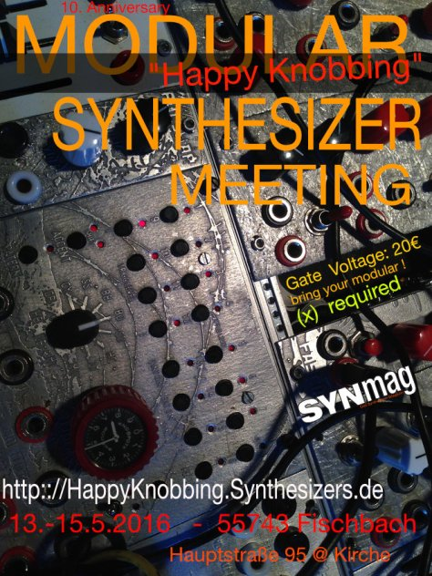 HK2016 Modular Synthesizer Meeting
