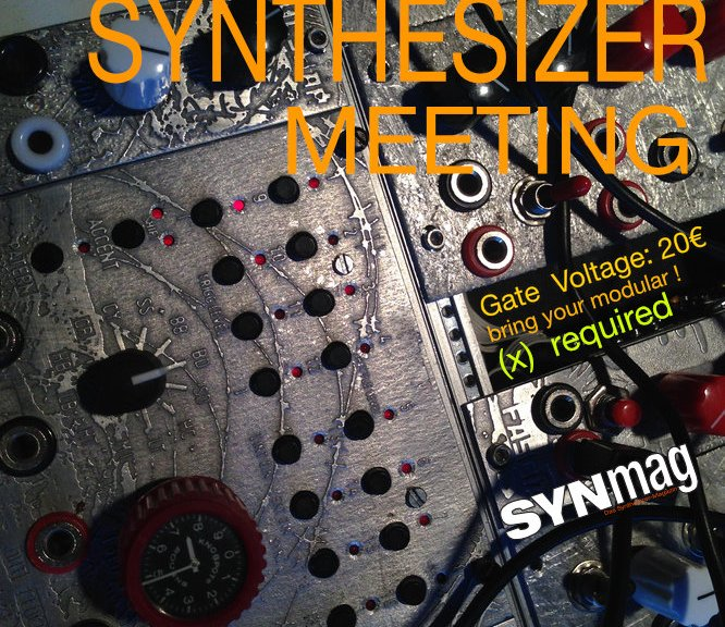 HK2016 Modular Synthesizer Meeting