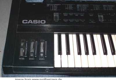 casio VZ1 synthesizer