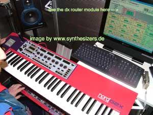 clavia g2x modular synthesizer