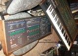 oberheim matrix 12 and oberheim xpander analog synthesizer