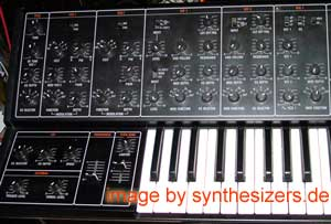 Yamaha CS30 synthesizer OSC + filter