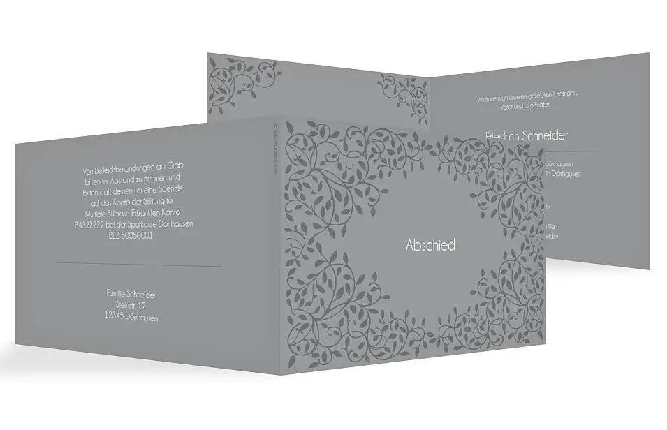 Trauerkarten Richtig Schreiben: Beispiele & Textvorschläge