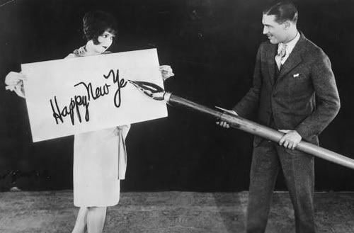 Clara Bow and Larry Taylor, 1925.