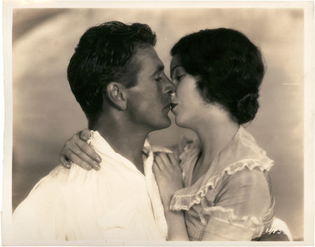 Gary Cooper and Fay Wray, The Fist Kiss, 1928.