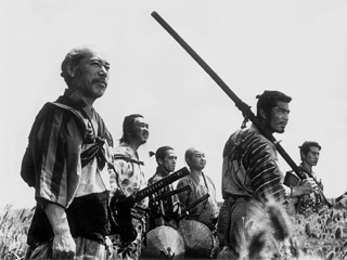 """The Seven Samurai,"" 1954, the greatest movie ever made."