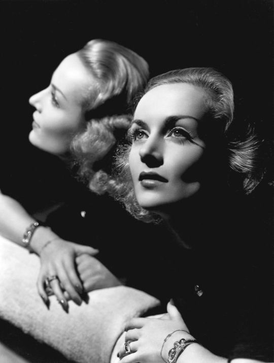 Carole Lombard by George Hurrell, 1930s.