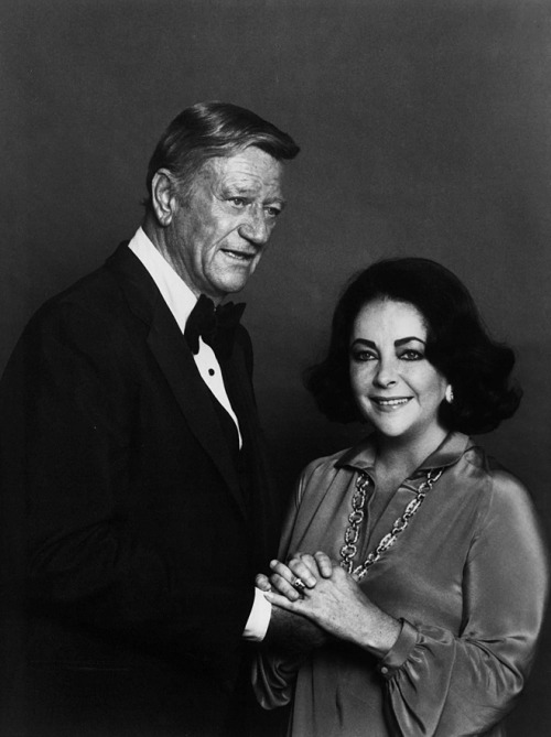 """""""He is as tough as an old nut and as soft as a yellow ribbon…His image had as much impact in the world as many of our presidents have had, but Duke was a great actor, a great humanitarian, but always himself."""" —Elizabeth Taylor"""
