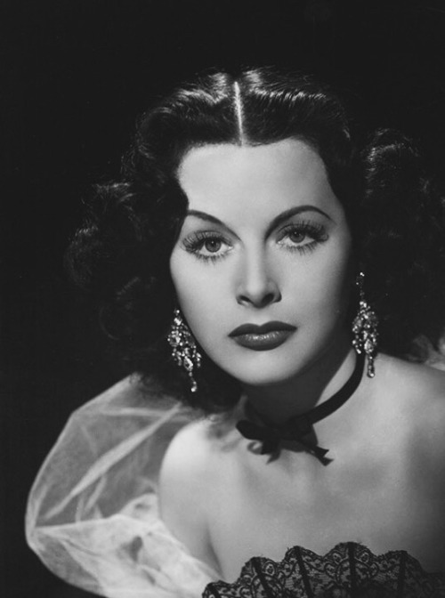 """My face has been my misfortune… a mask I cannot remove. I must live with it. I curse it."" —Hedy Lamar born Hedwig Eva Maria Kiesler (1914 – 2000)."