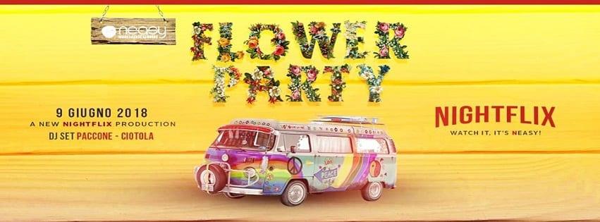 NEASY NAPOLI - Sabato 9 Giugno Flower Party