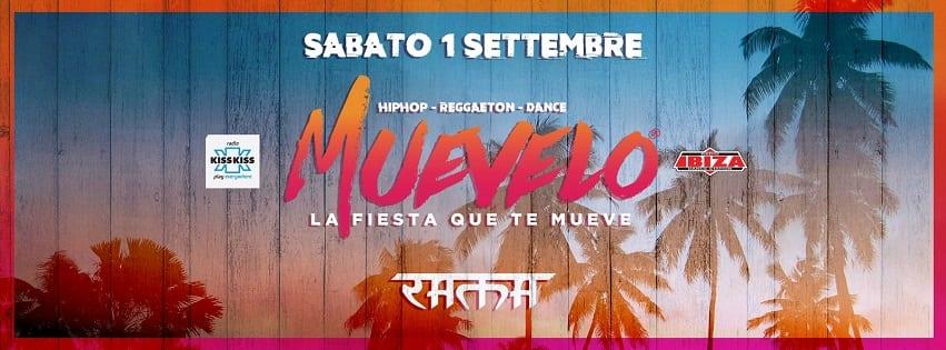 RAMA BEACH Varcaturo - Sabato 1 Settembre Muevelo Party