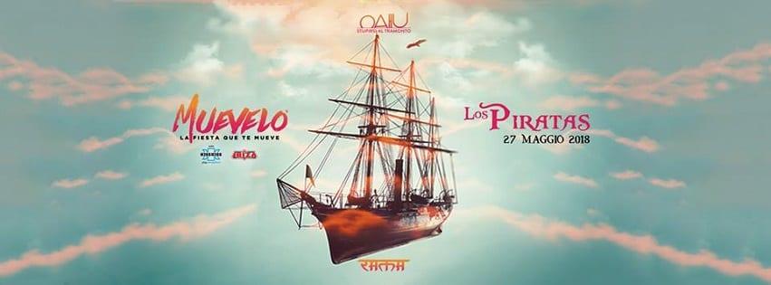 RAMA BEACH Varcaturo - Domenica 27 Los Pirates