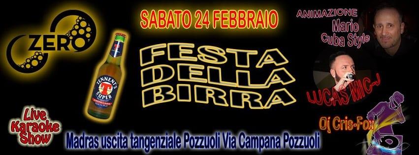 ZERO Discopub Pozzuoli - Sabato 24 Birra Fest Disco e Latino