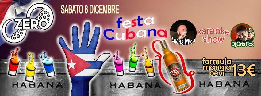ZERO Discopub Pozzuoli - Sabato 8 Dic Festa Cubana, Disco e Latino