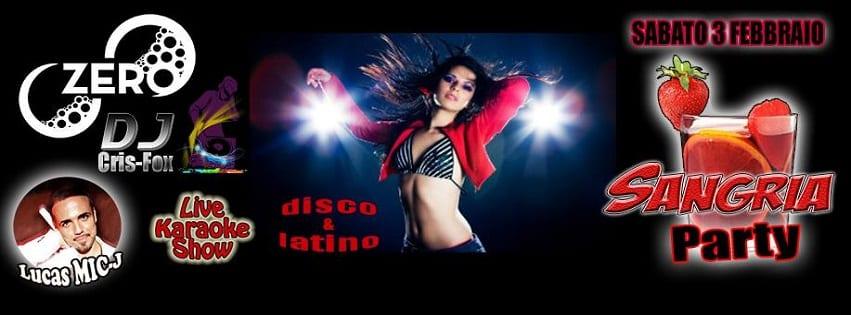 ZERO Discopub Pozzuoli - Sabato Sangria Party Disco e Latino