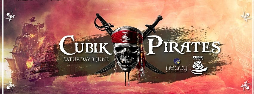 NEASY NAPOLI - Sabato 3 Giugno Pirates Party