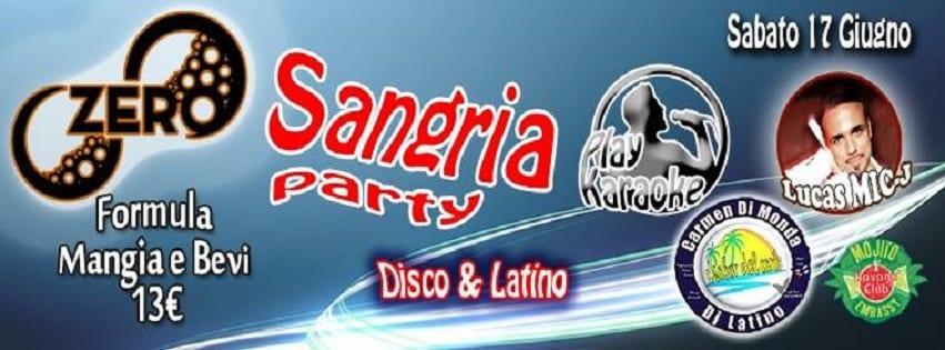ZERO Discopub Pozzuoli - Sabato 17 Cena Disco e Latino