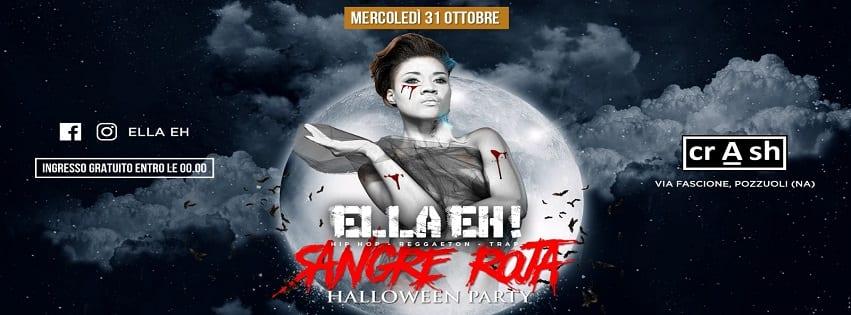 CRASH Pozzuoli - Mercoledì 31 Ottobre Halloween Party