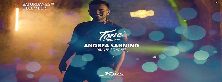 JOIA Napoli - Sabato 23 Andrea Sannino Dinner Show