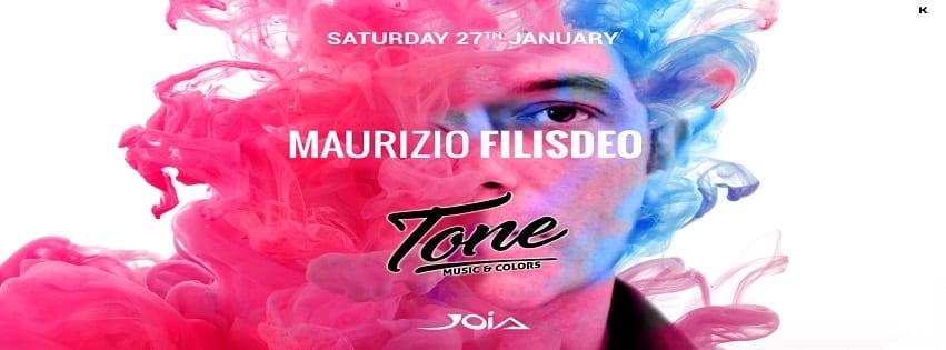 JOIA Napoli - Sabato 27 Gennaio Maurizio Filisdeo Live