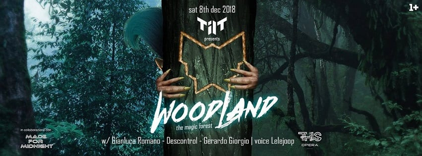 Opera Pozzuoli - Sabato 8 Dicembre Woodland Exclusive Party