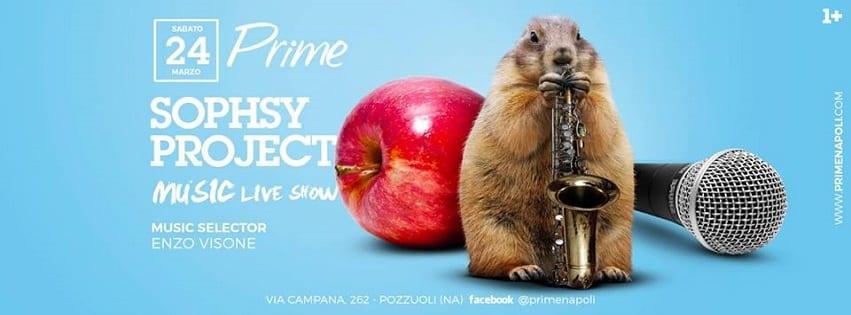 PRIME Pozzuoli - Sabato 24 Marzo Live Music e Dj Set