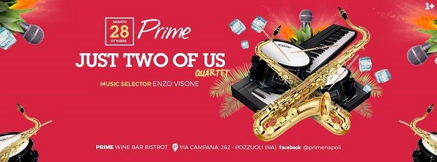PRIME Pozzuoli - Sabato 28 Ottobre Live Music e Dj Set