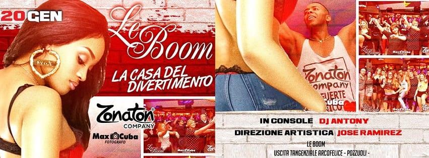 LeBoom Discopub Pozzuoli - Sabato 20 Gennaio Noche Latina