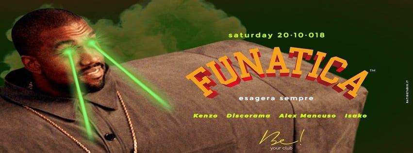 BE Your Club Aversa - Sabato 20 Ottobre Funatica Exclusive Party