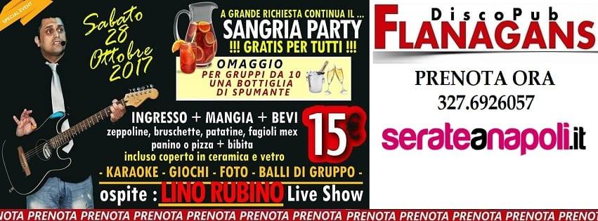 Flanagans Aversa - Sabato 28 Live show Karaoke e Disco