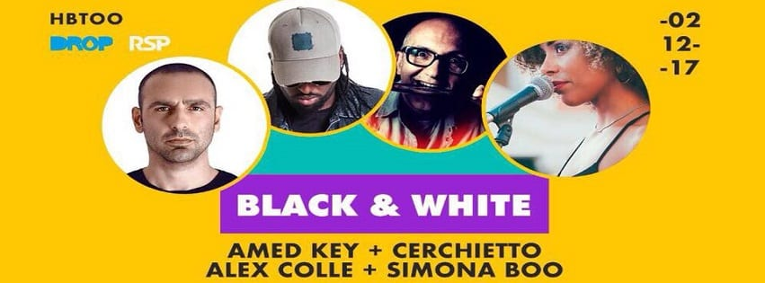 HBTOO Napoli - Sabato 2 Dic Black & White Party