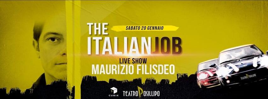 TEATRO Posillipo - Sabato 20 Gennaio Filisdeo Live Show